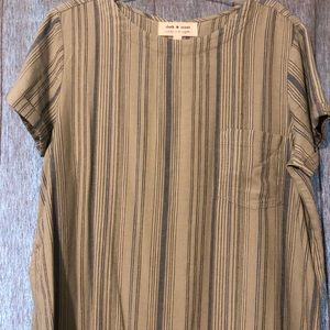 Cloth and Stone linen dress